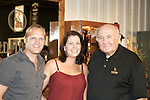 Wade Pascoe (left) and his wife, Claire, traveled from Melbourn, Austrailia, to meet Jimmy Russell (right), the master distiller at Wild Turkey, at the 2011 Kentucky Bourbon Festival.