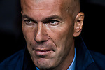 Manager Zinedine Zidane of Real Madrid prior to the UEFA Champions League 2017-18 match between Real Madrid and Tottenham Hotspur FC at Estadio Santiago Bernabeu on 17 October 2017 in Madrid, Spain. Photo by Diego Gonzalez / Power Sport Images