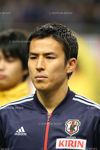 Makoto Hasebe (JPN), .FEBRUARY 6, 2013 - Football / Soccer : .KIRIN Challenge Cup 2013 Match between Japan 3-0 Latvia .at Home's Stadium Kobe in Hyogo, Japan. .(Photo by Akihiro Sugimoto/AFLO SPORT)