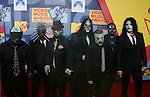 LOS ANGELES, CA. - September 07: Band Slipknot arrives at the 2008 MTV Video Music Awards at Paramount Pictures Studios on September 7, 2008 in Los Angeles, California..