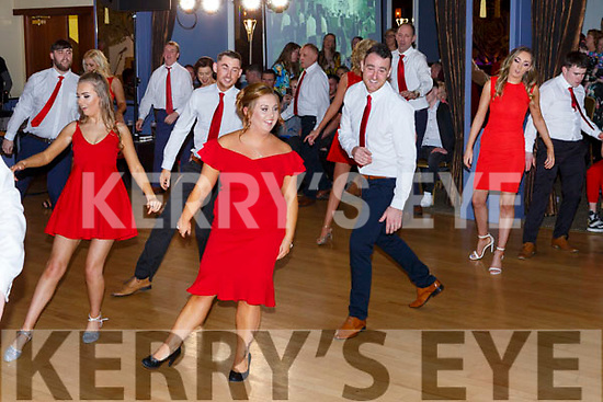 The performers for this year's Ballymac Strictly Love dancing in the Ballygarry House Hotel on Saturday.