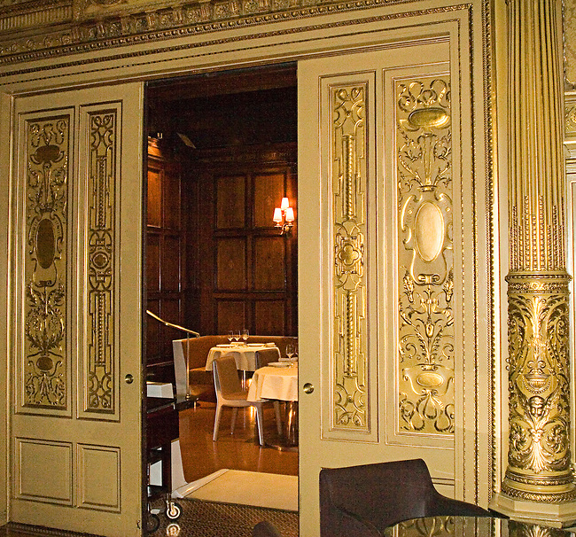 Gilted Entrance, Helmsley Palace Hotel Restaurant, New York, N.Y.