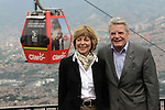 Alemanian President Joachim visit Medellin