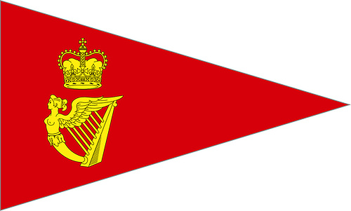 The Royal Cork Yacht Club's very elegant burgee