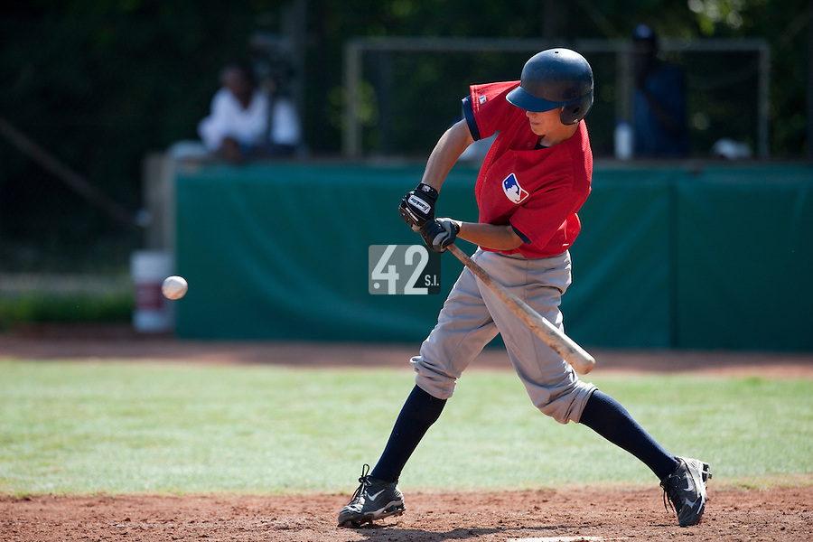 Baseball - MLB European Academy - Tirrenia (Italy) - 20/08/2009 - Player at bat