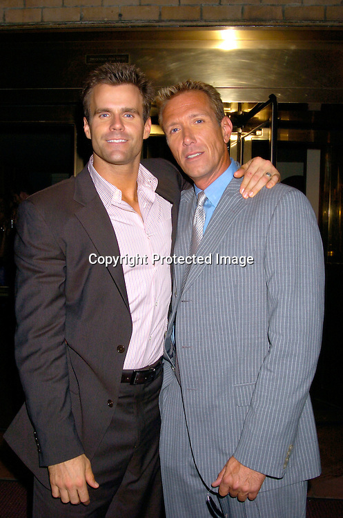 Cameron Mathison and Walt Willey ..at a Party for Susan Lucci to announce her Star on the Hollywood Walk of Fame on September 23, 2004 ..at San Domenico Restaurant . ..Photo by Robin Platzer, Twin Images