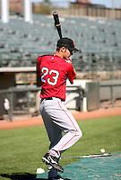 Josh Reddick / Scottsdale Scorpions 2008 Arizona Fall League..Photo by:  Bill Mitchell/Four Seam Images