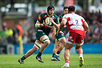 Harry Wells of Leicester Tigers in possession. Aviva Premiership match, between Leicester Tigers and Gloucester Rugby on September 16, 2017 at Welford Road in Leicester, England. Photo by: Patrick Khachfe / JMP