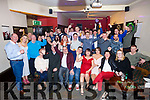 Peter Hawkins, Tralee, Celebrating his 21st Birthday with family and friends at the Slieve Mish Bar on Saturday