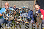 SCRAP: Members of Ballyduff GAA Club which has launched a scrap metal collection to raise funds for the club, l-r: Anthony O'Carroll, Padraig Hussey, Kevin O'Carroll.
