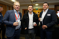 Pictured: Trevor Birch (L). Thursday 05 December 2019<br /> Re: CBN networking event at the Liberty Stadium, Swansea, Wales, UK.