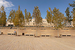 Jerusalem, Israel, Yad Vashem, the Holocaust Martyrs' and Heroes' Authority. The square in front of the entrance (2005)<br />
