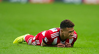 Brentford Oliver Watkins during the Sky Bet Championship match between Millwall and Brentford at The Den, London, England on 10 March 2018. Photo by Andrew Aleksiejczuk / PRiME Media Images.
