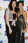 Lynda Carter & Sherri Saum participate in Defying Inequality: The Broadway Concert - A Celebrity Benefit for Equal Rights  on February 23, 2009 at the Gershwin Theatre, New York, NY. (Photo by Sue Coflin)