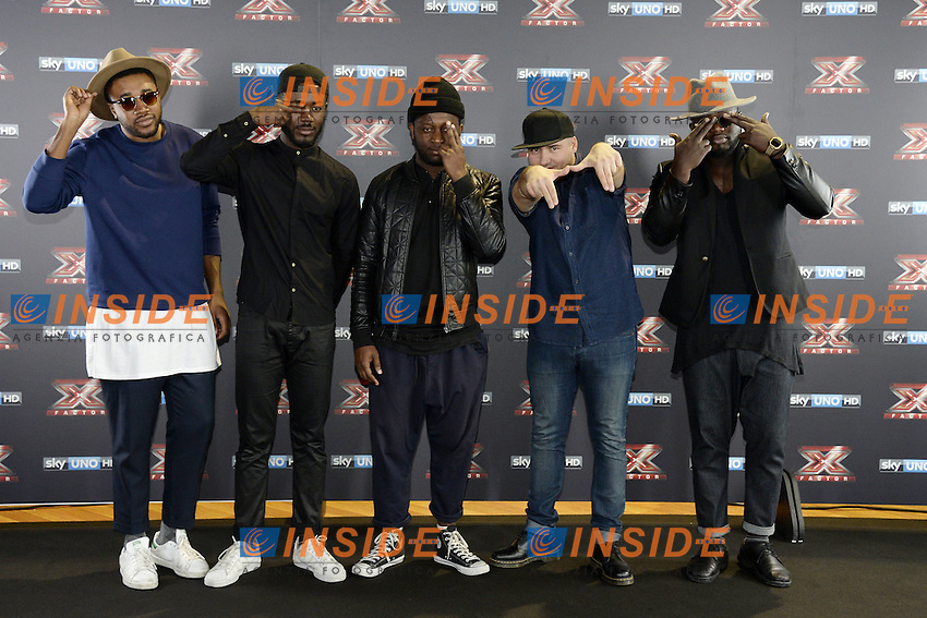 Db Milano 26/10/2016 - photocall trasmissione Tv 'X-Factor' / foto Daniele Buffa/Image/Insidefoto <br /> nella foto: Soul System