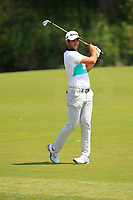 Adrian Otaegui (ESP) on the 1st fairway during Round 4 of the HNA Open De France at Le Golf National in Saint-Quentin-En-Yvelines, Paris, France on Sunday 1st July 2018.<br /> Picture:  Thos Caffrey | Golffile