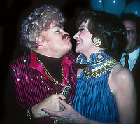 Rip Taylor and Ruth Warwick 1982<br /> Photo By Adam Scull/PHOTOlink.net/MediaPunch