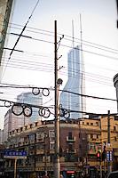 Moderno e antico nel centro di Shanghai<br /> Modern buildings in Old Town