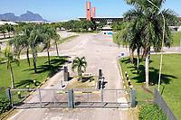 Rio de Janeiro (RJ), 04/04/2020 - Covid-19-Rio - Movimentacao reduzida no Riocentro, na tarde deste sabado (04). (Foto: Andre Fabiano/Codigo 19/Codigo 19)