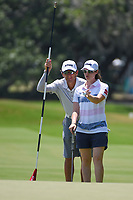 Leona Maguire (IRL) prepares to putt on 4 during round 1 of the 2019 US Women's Open, Charleston Country Club, Charleston, South Carolina,  USA. 5/30/2019.<br /> Picture: Golffile | Ken Murray<br /> <br /> All photo usage must carry mandatory copyright credit (© Golffile | Ken Murray)