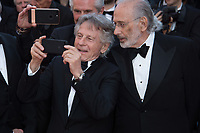 Roman Polanski &amp; Jerry Schatzberg at the 70th Anniversary Gala for the Festival de Cannes, Cannes, France. 23 May 2017<br /> Picture: Paul Smith/Featureflash/SilverHub 0208 004 5359 sales@silverhubmedia.com