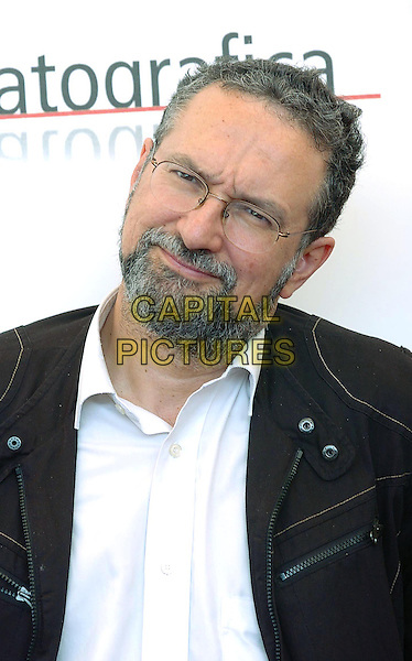 JEAN MICHEL FRODON.62nd International Film Festival,.Photocall of the Orizzonti's jury,.Venice, 31st August 2005.portrait headshot judge panel white shirt beard black jacket.www.capitalpictures.com.sales@capitalpictures.com.© Capital Pictures.