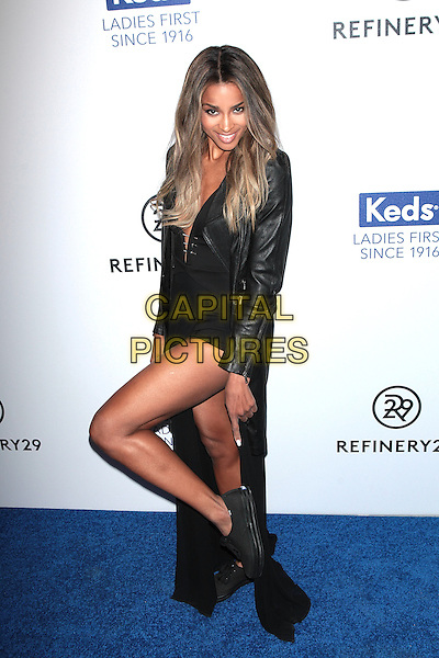 NEW YORK, NY - FEBRUARY 9: Ciara attends Keds Centennial Celebration at Studio 548 on February 10, 2016 in New York City. <br /> CAP/MPI99<br /> &copy;MPI99/Capital Pictures