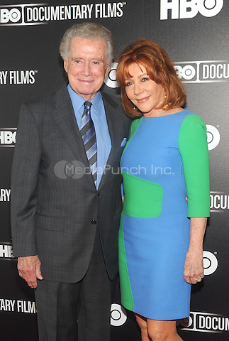 "New York, NY-June 5: Regis Philbin and Joy Philbin attends  ""Remembering The Artist: Robert DeNero Sr."" New York Premiere at the Museum Of Modern Art on June 5, 2014 in New York City. (C) Credit: John Palmer/MediaPunch"