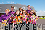 Fleadh Cheoil CJiarrai: Taking part in Fleadh Cheoil Chiarrai hel in Ballybunion last week were members of the Sliabh Mish CCe. Front: Morgan sayers, Miriam Fell, Ashling O'Neill & Fiona Fell. Back : Eoin Farrell, Megan O'Connor & Michael Fell.
