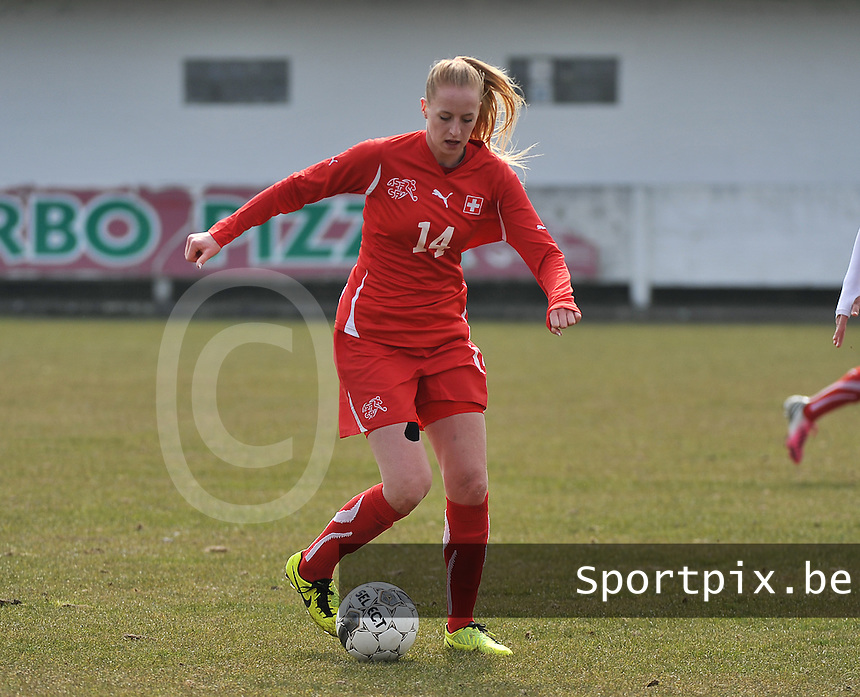Switzerland U19 - Russia U19 : Nina Stapelfeldt.foto DAVID CATRY / Nikonpro.be