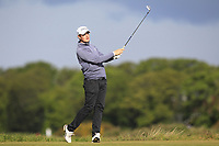 Nick Peoples (Royal Lytham & St. Anne's) on the 5th tee during Round 3 of the Lytham Trophy, held at Royal Lytham & St. Anne's, Lytham, Lancashire, England. 05/05/19<br /> <br /> Picture: Thos Caffrey / Golffile<br /> <br /> All photos usage must carry mandatory copyright credit (© Golffile | Thos Caffrey)