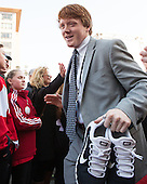 Ross Mauermann (PC - 14) - The teams walked the red carpet through the Fan Fest outside TD Garden prior to the Frozen Four final on Saturday, April 11, 2015, in Boston, Massachusetts.
