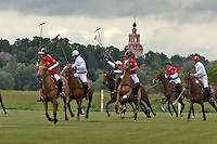 Gorky 2, Moscow Region, Russia, 01/07/2005..Matches in progress at the Russian Polo Cup 2006, organised by the Russian Federation of Polo Players.