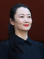 L'attrice cinese Zhao Tao posa durante un red carpet alla 14^ Festa del Cinema di Roma all'Aufditorium Parco della Musica di Roma, 26 ottobre 2019.<br /> Chinese actress Zhao Tao poses on a red carpet   during the 14^ Rome Film Fest at Rome's Auditorium, on 26 October 2019.<br /> UPDATE IMAGES PRESS/Isabella Bonotto