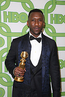 BEVERLY HILLS, CA - JANUARY 6: Mahershala Ali at the HBO Post 2019 Golden Globe Party at Circa 55 in Beverly Hills, California on January 6, 2019. <br /> CAP/MPI/FS<br /> ©FS/MPI/Capital Pictures