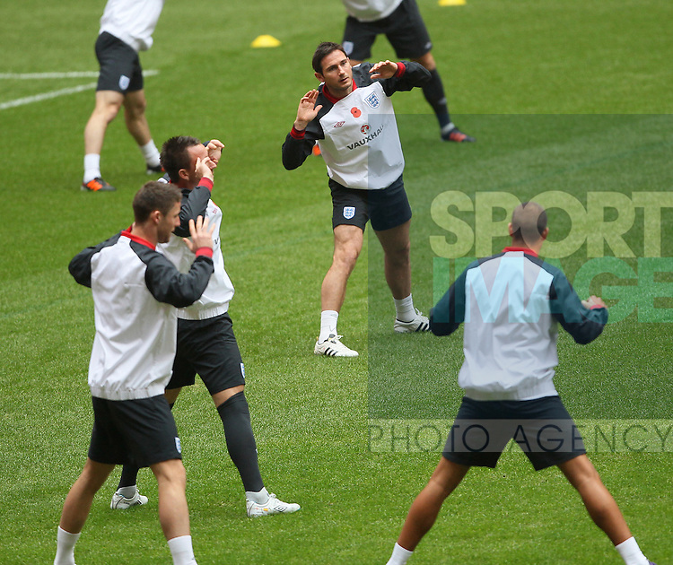 Englands Frank Lampard during training