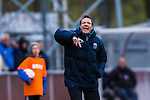 Uppsala 2014-05-07 Fotboll Superettan IK Sirius - &Ouml;stersunds FK :  <br /> Sirius tr&auml;nare Kim Bergstrand reagerar<br /> (Foto: Kenta J&ouml;nsson) Nyckelord:  Superettan Sirius IKS &Ouml;stersund &Ouml;FK portr&auml;tt portrait