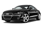 Low aggressive front three quarter view of a 2011 - 2014 Audi TT S line 3 Door Coupe 4WD