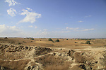 Israel, Tel Hasi, ancient archaeological site in Southern Coastal Plain