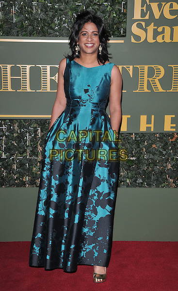 Indhu Rubasingham attends the London Evening Standard Theatre Awards 2015, The Old Vic, The Cut, London, England, UK, on Sunday 22 November 2015.<br /> CAP/CAN<br /> &copy;CAN/Capital Pictures