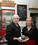 Ellen McLoughlin and Breda Mahon at  the Abbey Cafe Official Opening...(Photo credit should read Jenny Matthews/NEWSFILE)...