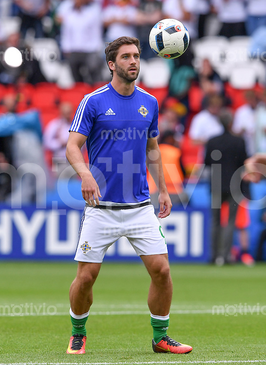 FUSSBALL EURO 2016 GRUPPE C IN PARIS Nordirland - Deutschland     21.06.2016 Will Grigg (Nordirland)