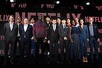 Netflix CEO Reed Hastings attends Netflix contents presentation at Nicofare Tokyo Japan on 27 Jun 2016. (Photo by Motoo Naka/AFLO)