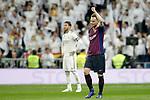 FC Barcelona's Ivan Rakitic celebrates goal during La Liga match. March 02,2019. (ALTERPHOTOS/Alconada)