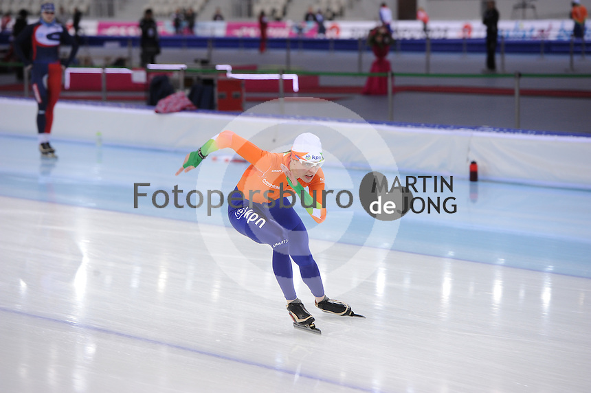 SPEEDSKATING: SOCHI: Adler Arena, 21-03-2013, Training, Marrit Leenstra (NED), © Martin de Jong