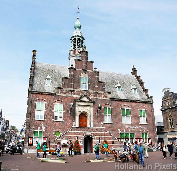 Nederland Purmerend  juni  2018. Het Purmerends Museum is gevestigd in het oude Stadhuis. Foto Berlinda van Dam / Hollandse Hoogte