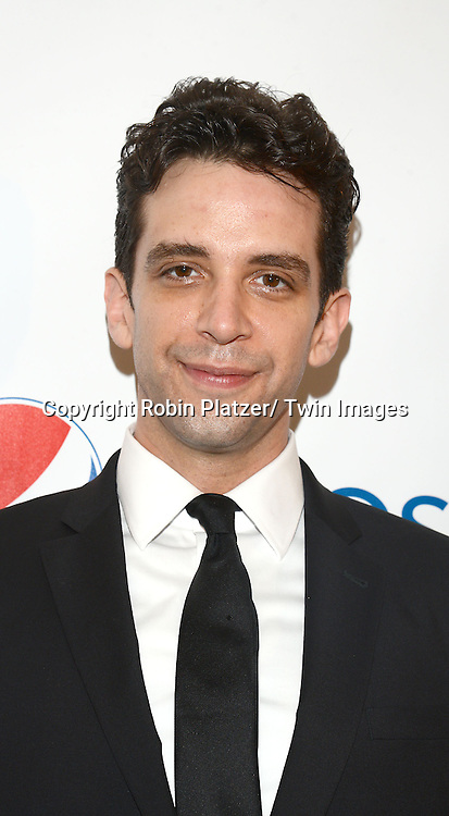 Nick Cordero attends the 80th Annual Drama League Awards Ceremony and Luncheon on May 16, 2014 at the Marriot Marquis Hotel in New York City, New York, USA.