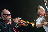 Stéphane Belmondo et Thomas Bramerie, double-bass