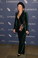 Alice Temperley<br /> arriving for the LUMINOUS Gala 2019 at the Roundhouse Camden, London<br /> <br /> ©Ash Knotek  D3522 01/10/2019