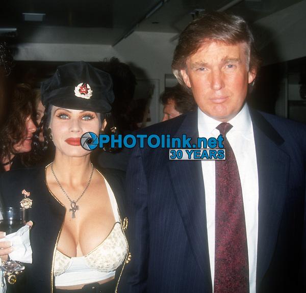 Donald Trump, Melania Knauss, 1993, Photo By John Barrett/PHOTOlink